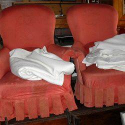 fauteuils bergères atelier