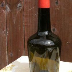 bouteille à calva ouverte