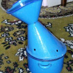inhalateur bleu droite
