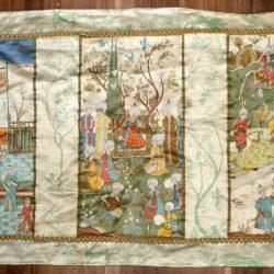 tissu histoire orientale