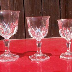 verres à pied sylvie vin blanc comparatif