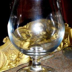 verre à digestif vin rouge épais