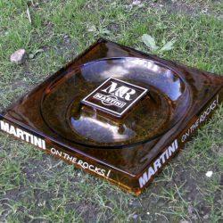cendrier martini grand carré biais