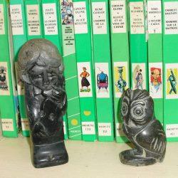 statuette chouette atelier