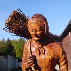 statuette belle des bois buste