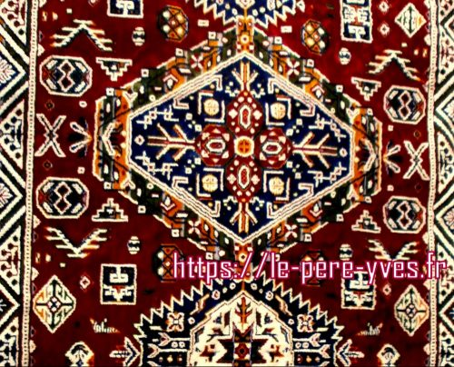 tapis flamboyant détail