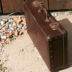 valise lie de vin biais