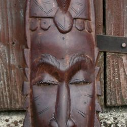 masque africain debout gm
