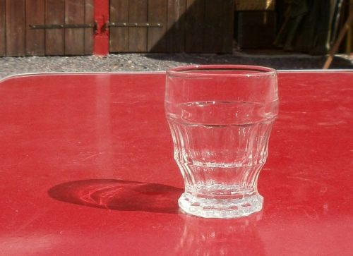 verres sans pied baby évasé recto