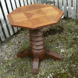 table de salon vis bois biais