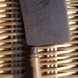 lame de boucher acier fondu lv droite