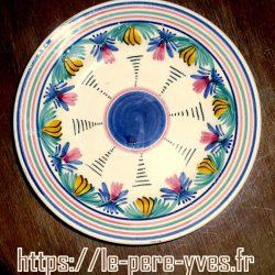 assiette décorative soucoupe quimper recto
