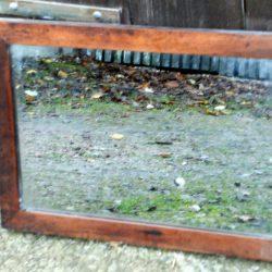 miroir bois simple