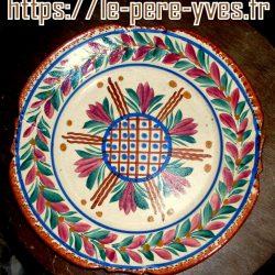 assiette décorative cendrier quimper recto