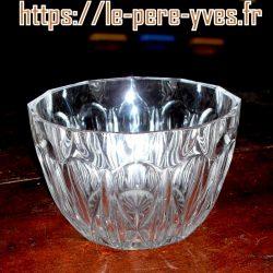 confiturier en verre sans couvercle coté