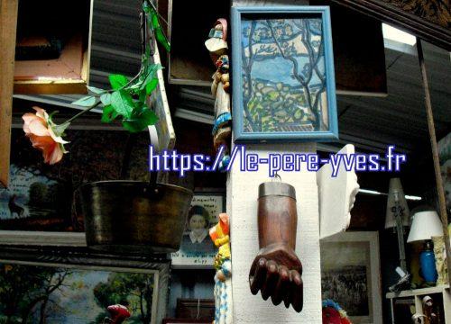 tableau vue du balcon atelier
