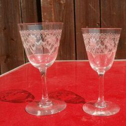 verres à pied sissi comparatif