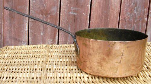 casserole cuivre et fer la toute grande droite