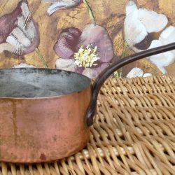 casserole fer cuivre étamé beurre noisette gauche