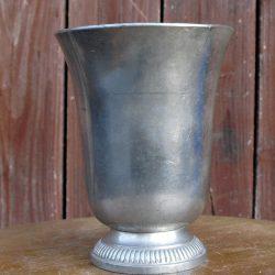 vase étain d'art pur irman