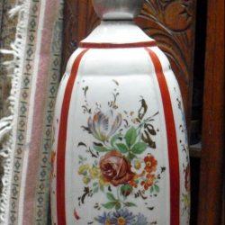 pied de lampe porcelaines d'art mv verso