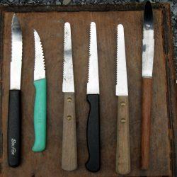 couteaux à pamplemousse avion