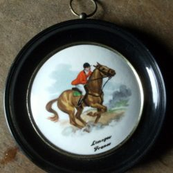 tableau cheval limoges recto