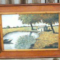 tableau georget petite maison dans la prairie face
