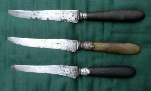 couteaux du patrimoine recto