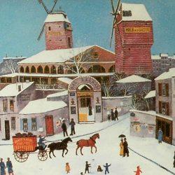 tableau moulin galette de près