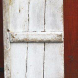 volet blanc