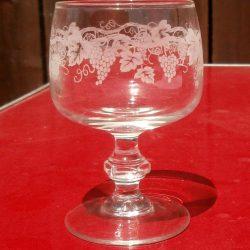 verres à pied vendanges tardives