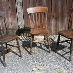 chaises taverne rond