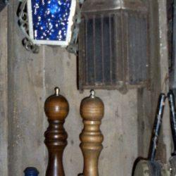 suspension colorée étagère