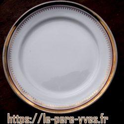 assiettes à dessert valmy recto