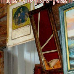 miroir rectangulaire rotin recto vertical atelier