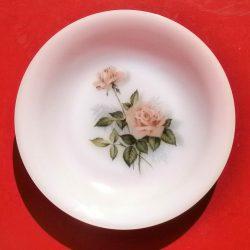 assiettes creuses arcopal roses roses recto