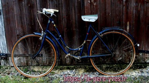 vélo chamois gauche