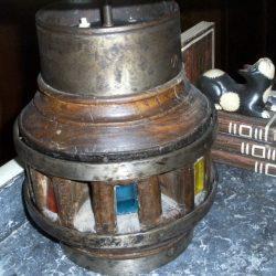 lampe moyeu pied