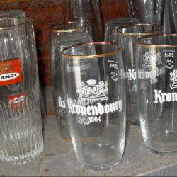 verres kronenbourg 1664 atelier