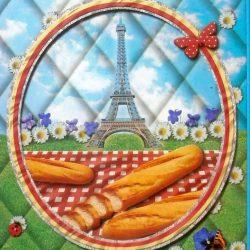 planche à pain en verre détail