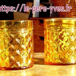 verres à pernod 1960 face