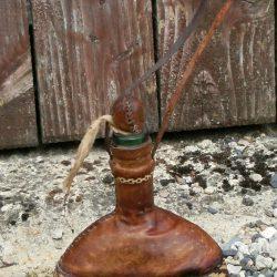 bouteille cuirée recto