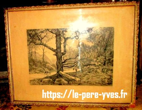 tableau arbre de loin