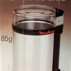 moulin à café électrique de luxe recto