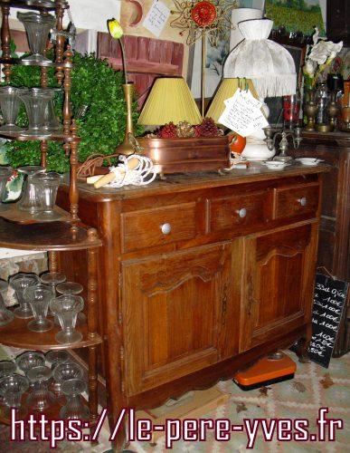 bahut 3 tiroirs atelier