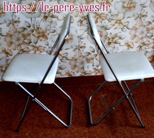 chaises soudexvinyl coté