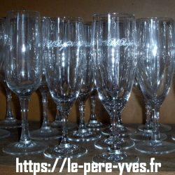 flutes à champagne pol roger atelier
