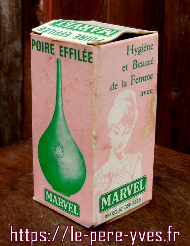 marvel poire à lavement boite