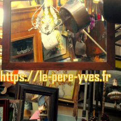 miroir rectangulaire bois simple et beau atelier